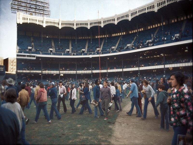 Yankee Stadium September 30, 1973 The First Lastt Game