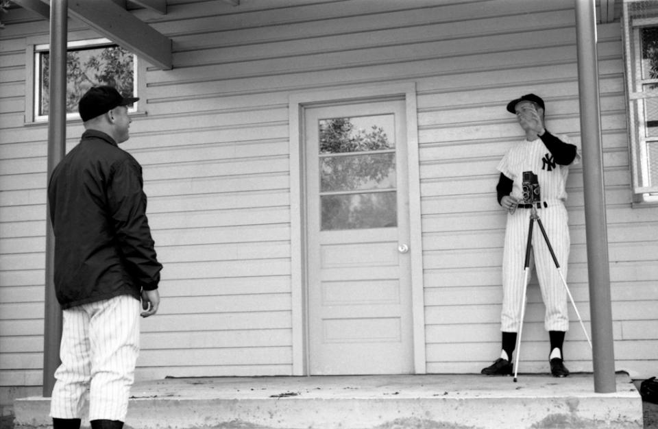 Unpublished images Life Magazine New York Yankees Spring Training 1961