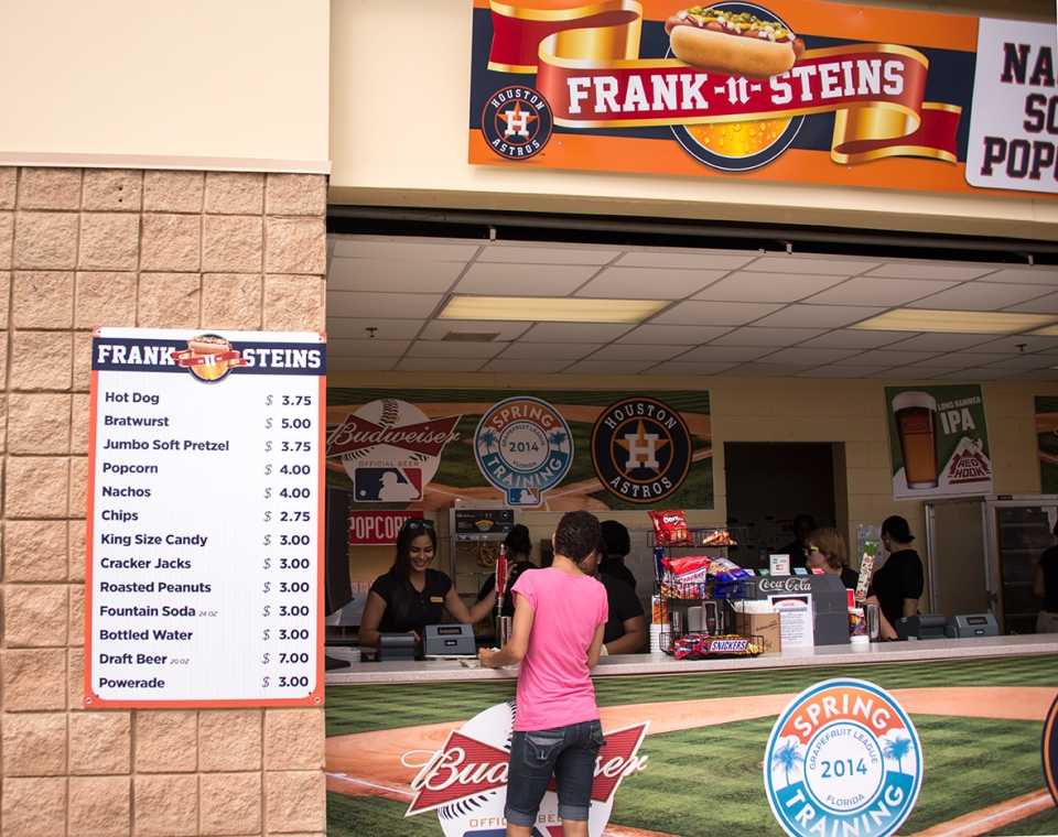 Maybe the best prices for at a spring training game www.ballparkprints.com