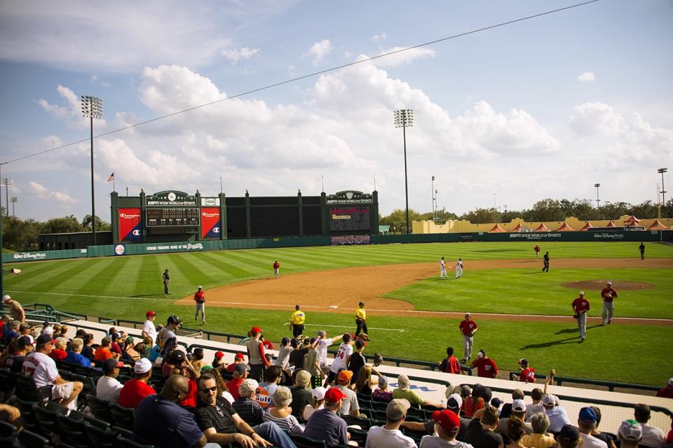 Champion Stadium ESPN Wide World of Sports of Complex Kissimmee, FL  www.ballparkprints.com