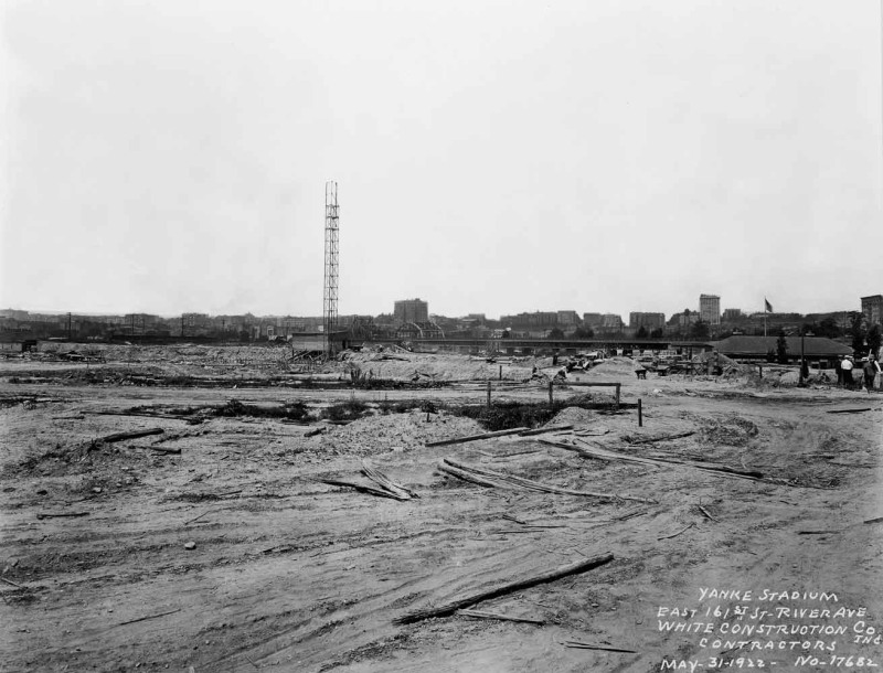 May 31, 1922 Ballpark Prints Yankee Stadium www.ballparkprints .com