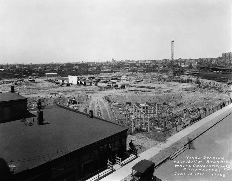 June 13, 1922 Ballpark Prints Yankee Stadium  www.ballparkprints.com