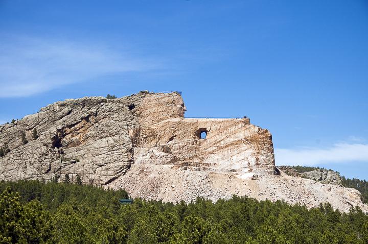 Crazy Horse Monument Black Hills in South Dakota www.ballparkprints.com