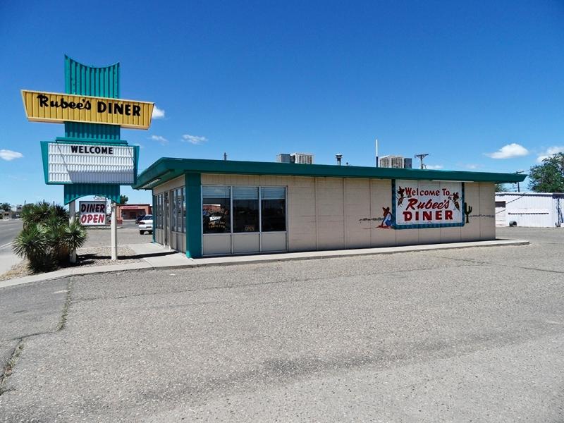 Rubee's Diner Tucumcare New Mexico 2010 Now Closed
