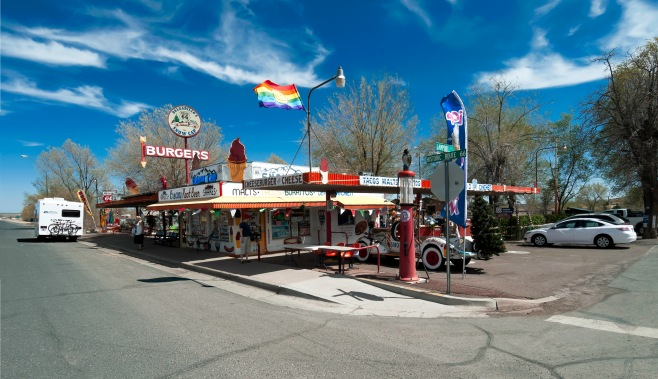 Delgadillo's Snow Cap Drive-In Seligman Arizona  Route 66