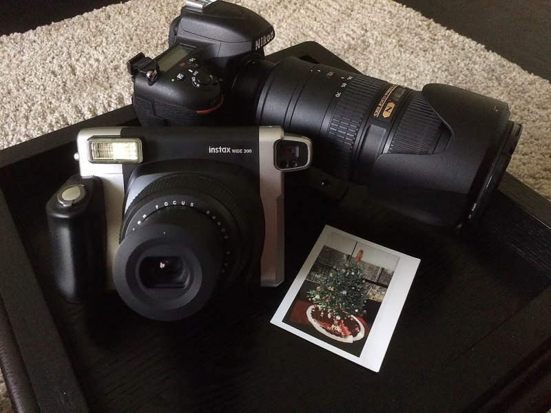 My Nikon , lens 70-200mm f2.8 FujiFilm Instax Wide 300 & First Polaroid. Shoot on my iphone 5s Paul Plaine/Ballpark Prints LLC